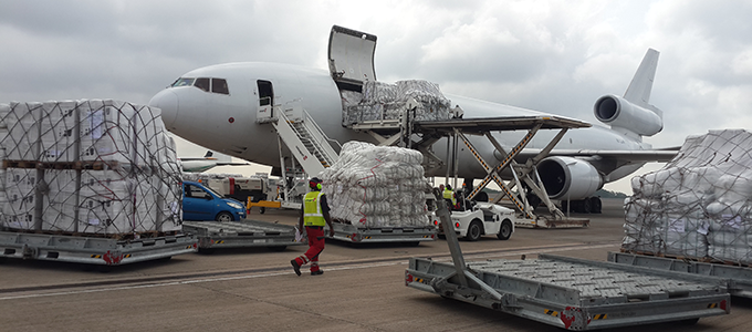Ireland airlifts supplies to help South Sudanese refugees Credit UNHRD