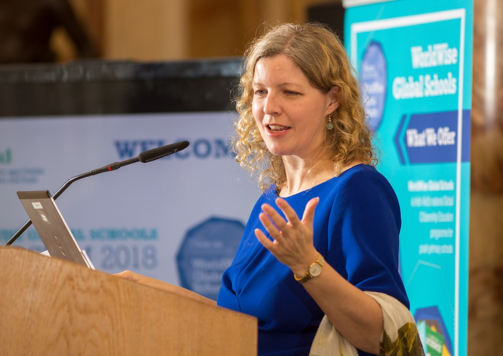 Orla McBreen, Director CSDEU, Irish Aid (Credit:Conor Healy PICTUREiT)