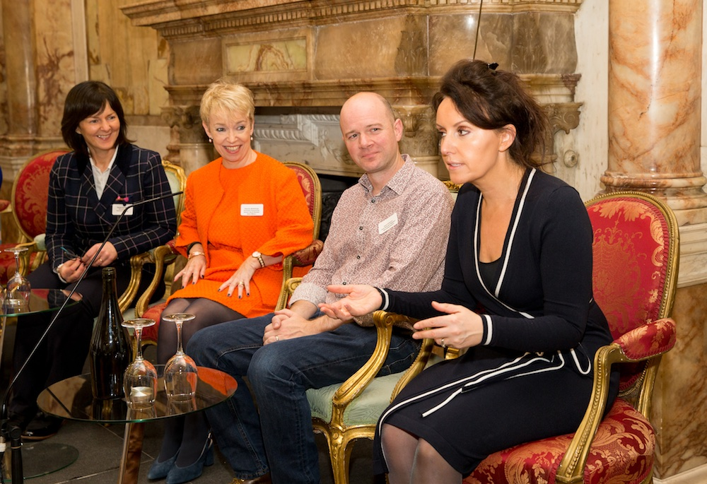 Maighread Mhic Dhomhnaill, Patricia McPhillips, Colm O'Connor and Erica Sheehan (Credit: Conor Healy PICTUREiT)