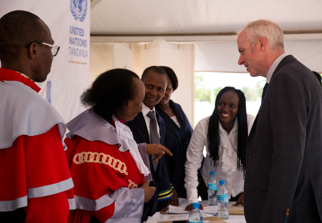 Irish Embassy raises awareness of Gender-Based Violence in Tanzania