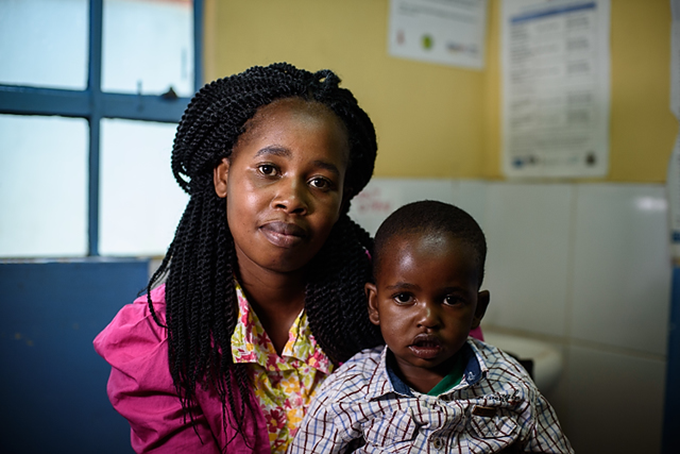 New Hope for Children with TB. Photographer Credit: Jennifer Huxta for TB Alliance