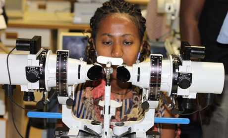 Irish Aid supporting eyecare in Africa