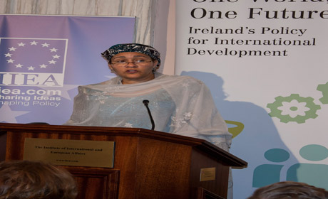 UNSG's Special Advisor on Post 2015 Amina Mohammed