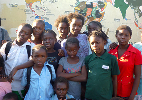 Group of Children from the Mancilla Community School in Lusaka