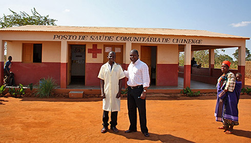 Mozambique health clinic in Niassa