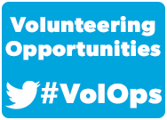 Volunteering Opportunities #VolOps