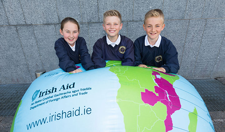Pupils from Crecora National School are celebrating making it to the national final of the prestigious 2018 Our World Irish Aid Awards.